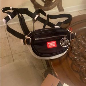 Burberry cannon pack nylon harness bag